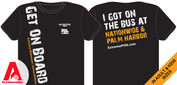 Get On the Bus! T-shirt