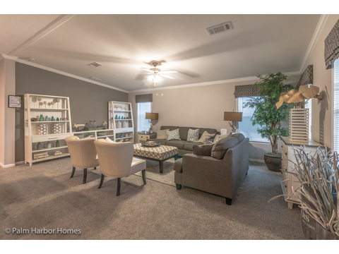 Living room - Siesta Key II P2566Q by Palm Harbor Homes