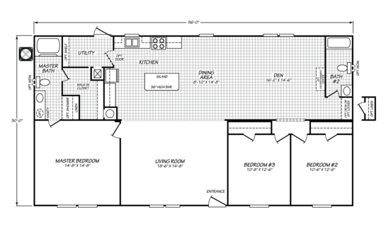 Floor Plan:Velocity Model VE32563V Floor Plan