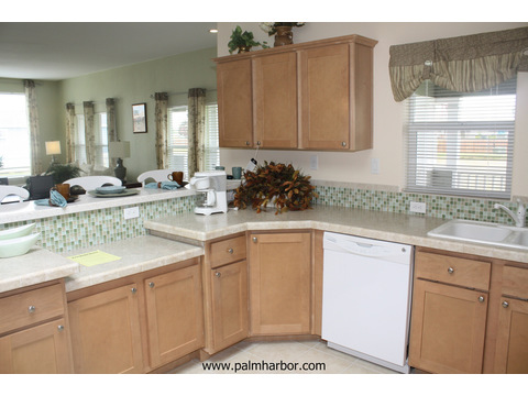 Chef's kitchen - The Mt. Bachelor 5V348D6, Palm Harbor Homes
