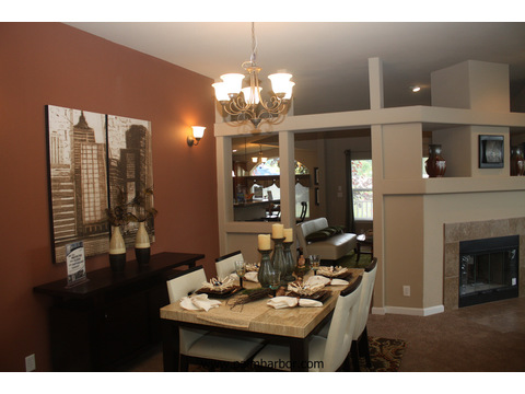 Formal dining area - The Mt. Shasta 5V465A4, Palm Harbor Homes