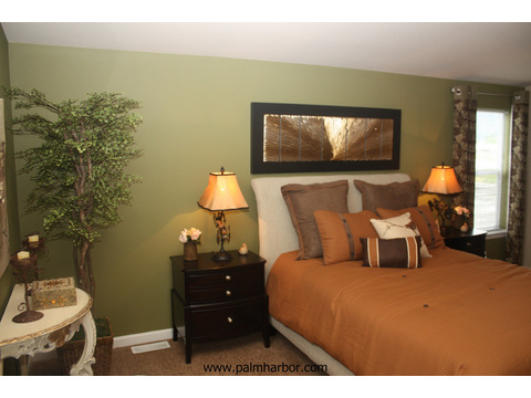 Master bedroom - The Mt. Shasta 5V465A4, Palm Harbor Homes