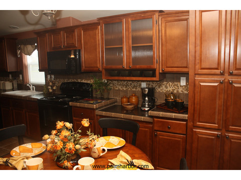 Tons of cabinet storage - The Mt. Shasta 5V465A4, Palm Harbor Homes