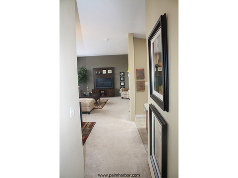 Hallway to living room - The Truman III N4P366A1, Palm Harbor Homes
