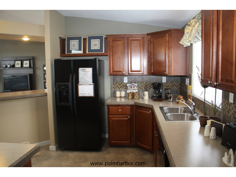 Kitchen - The Truman III N4P366A1, Palm Harbor Homes
