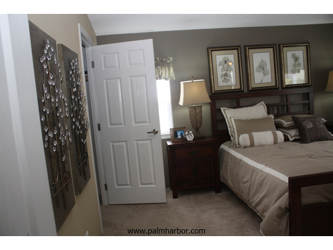 Master bedroom - The Truman III N4P366A1, Palm Harbor Homes
