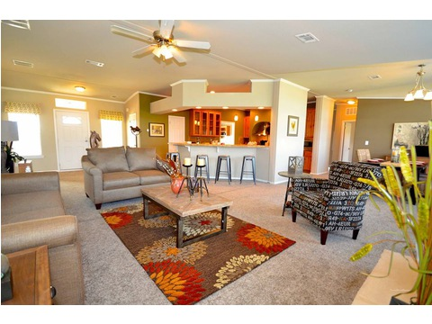 Another decorate model of The Hacienda manufactured home by Palm Harbor Homes - 4 Bedrooms, 3 Baths, 2,338 Sq. Ft. - www.palmharbor.com