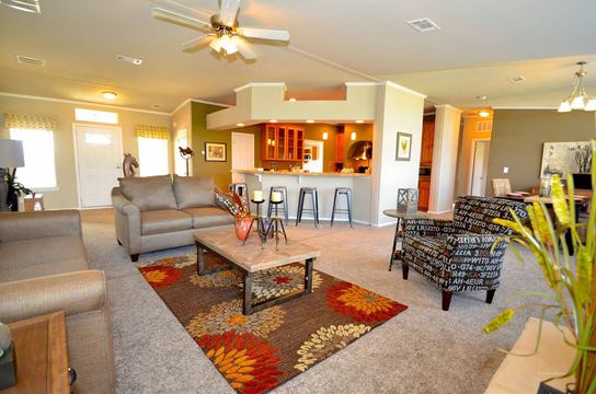 Another Decorate Model Of The Hacienda Manufactured Home By Palm Harbor Homes 4 Bedrooms 3 Baths 2 338 Sq Ft Www Palmharbor Com