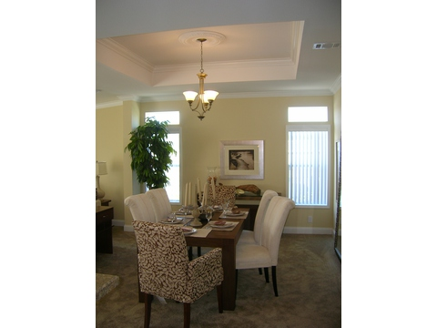 Dining Room - Sandburg X344C2 by Palm Harbor Homes