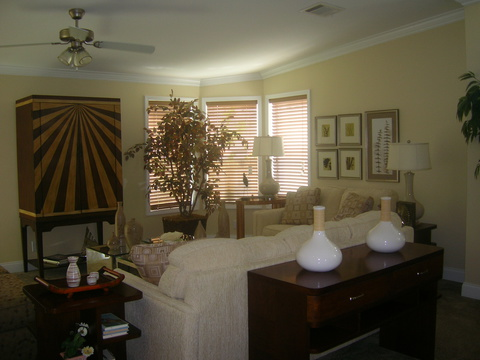 Living Room - Sandburg X344C2 by Palm Harbor Homes