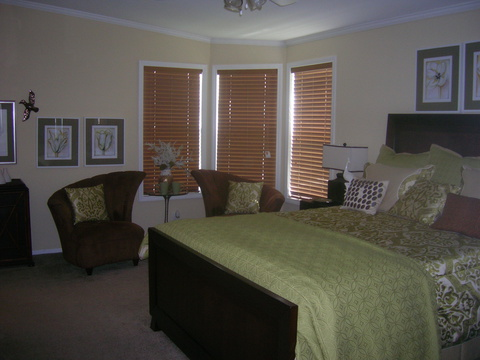 Master Bedroom - Sandburg X344C2 by Palm Harbor Homes