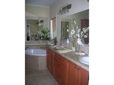 Master Bath - Sandburg X344C2 by Palm Harbor Homes