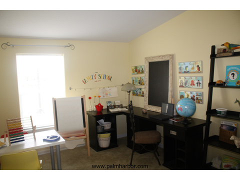 Spacious kid's play/work room - The Timberridge 5V460T5, Palm Harbor Homes