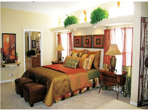 Master Suite - The Timberridge 5V460T5, Palm Harbor Homes