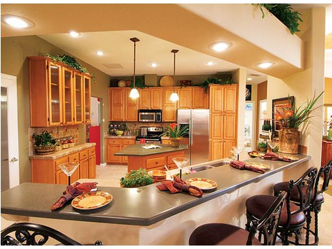 Kitchen - The Timberridge 5V460T5, Palm Harbor Homes