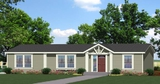 Standard Elevation - The Columbia N4P352F5, Palm Harbor Homes