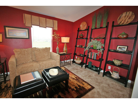 Study room - The Metolius Cabin N5P264K1, Palm Harbor Homes