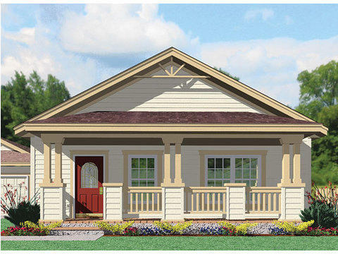 Bungalow Elevation - Wilmington by Palm Harbor Homes