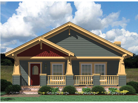 Craftsman Elevation - Wilmington by Palm Harbor Homes