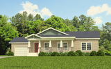 Craftsman Elevation - Wilmington 4 Bedroom by Palm Harbor Homes