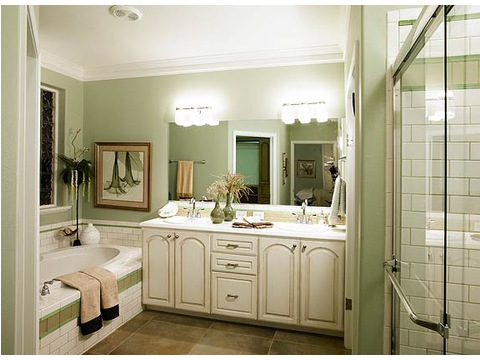 Master Bathroom - Wilmington 4 Bedroom by Palm Harbor Homes