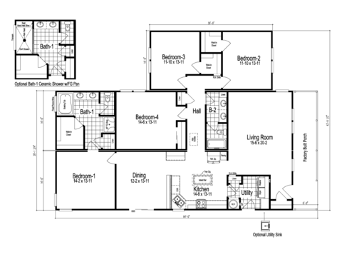 >The Wilmington II Floor Plan