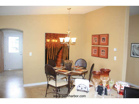The Bay View I by Palm Harbor Homes - Dining area