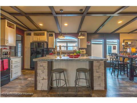 Eat-in kitchen great for entertaining - Model PE32604F, 4 Bedrooms, 2 Baths, 1,840 Sq. Ft.