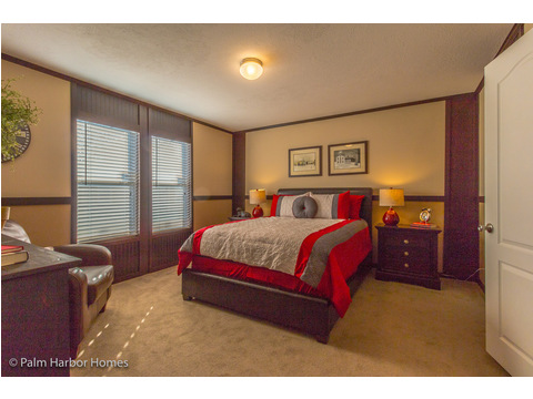 Master bedroom - Model PE32604F, 4 Bedrooms, 2 Baths, 1,840 Sq. Ft.