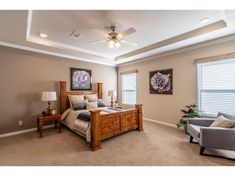 The Master Bedroom - The Urban Homestead FT32563C manufactured home floor plan, 3 Bedrooms, 2 Baths, 1,736 Sq. Ft. Exterior Dimensions: 56'x31'