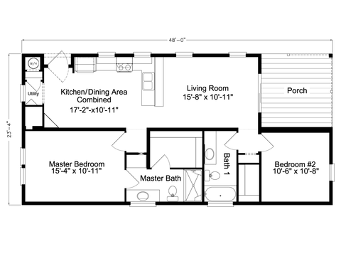 >Buena Vista LS24482B Floor Plan