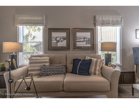 Living room - Buena Vista by Palm Harbor Homes, 2 Bedrooms, 2 Baths, 1,109 Sq. Ft.