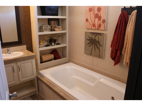 Master bath with built-ins - Model 16763R