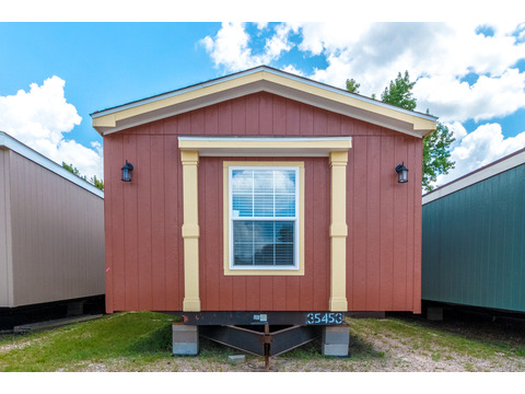 Exterior of the Model 16763R single wide manufactured home with 3 Bedrooms, 2 Baths, 1,185 Sq. Ft. available from Palm Harbor Homes