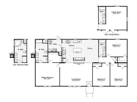 >The Momentum II MMT460B1 Floor Plan