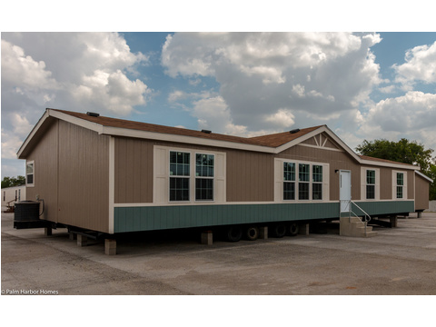 The Momentum III manufactured home by Palm Harbor has 1,860 square feet of living space with 4 bedrooms and 2 baths. And if 4 bedrooms is too many for you, turn one of them into an optional entertainment room or home office.