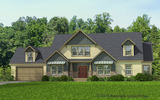Craftsman Elevation - The Richland by Palm Harbor Homes
