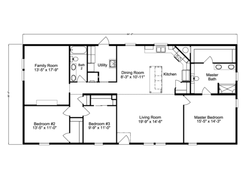 >Barbados II Floor Plan by Palm Harbor Homes