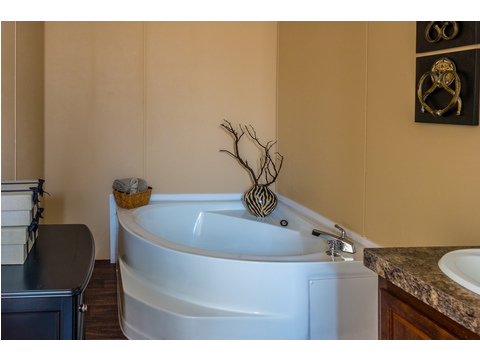 Soaker Tub in Master Bath - Model 16723V