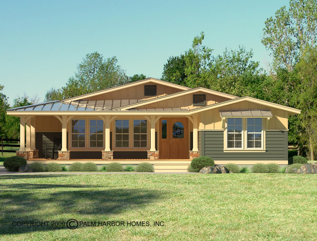 View the la linda ii floor plan for a 2389 sq ft palm for Metal homes louisiana