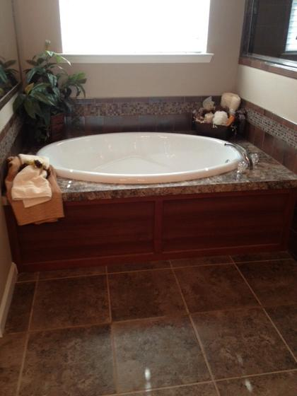 Garden tub cleveland texas home photos gallery of for Oval garden tub