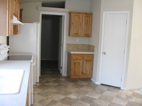 The kitchen pantry in the Mountain View III manufactured home with 3 Bedrooms, 2 Baths, 1908 Sq. Ft.