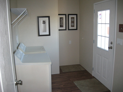 Spacious utility room - The Pecan Valley IV by Palm Harbor Homes