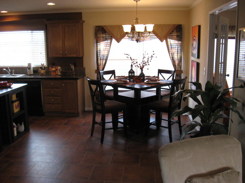Dining Room - The Pecan Valley IV by Palm Harbor Homes