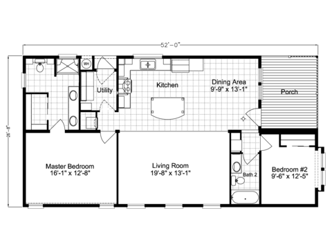 >Summer Breeze IV LS28522D Floor Plan