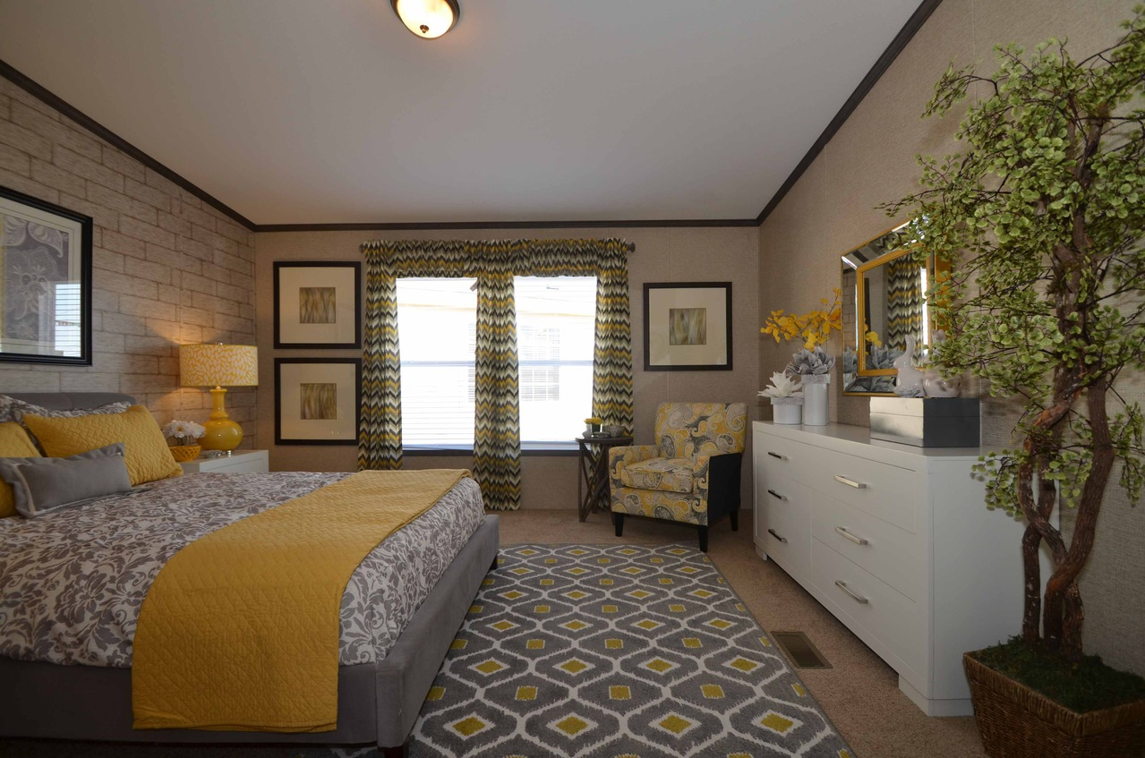 View the benbrook f model floor plan for a 1920 sq ft palm for Manufactured homes with 2 master suites