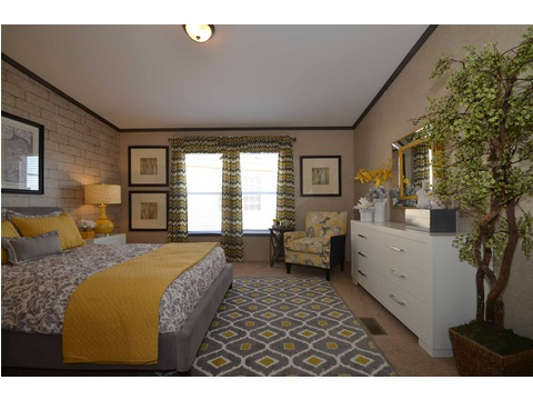 Very spacious master suite - The Benbrook KHT364F2 by Palm Harbor Homes