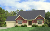 Craftsman Elevation - The Tyron by Palm Harbor Homes