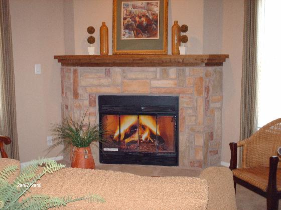 La Linda Fireplace