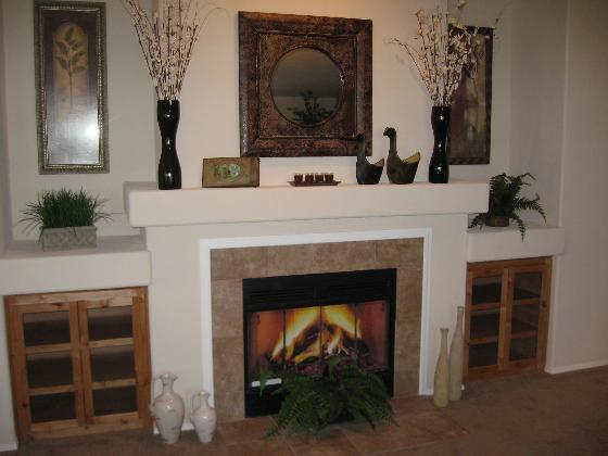Awesome fireplace 64F1